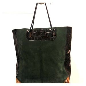 Alexander Wang Prisma Tote Croc and Suede